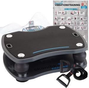 Vibro Shaper Trainingsplan - skandika Vibrationsplatte 500 3D Vibration